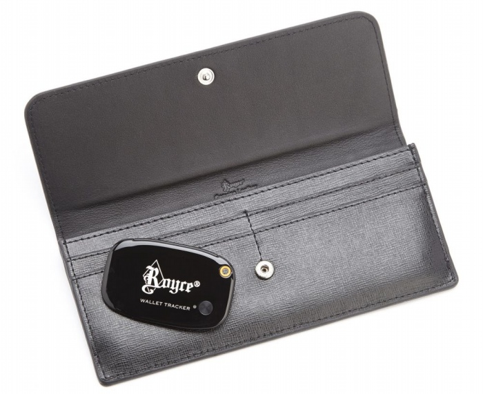 Saffiano Freedom Wallet with GPS