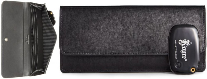 Saffiano Freedom Wallet with GPS1