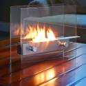 Tabletop Fireplace Fits Better In Cramped Apartments