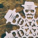 DIY Heisenberg Paper Snowflake?  DIY Heisenberg Paper Snowflake!