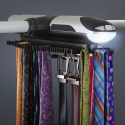 The Motorized Tie Rack Will Make You Look Richer Than You Are