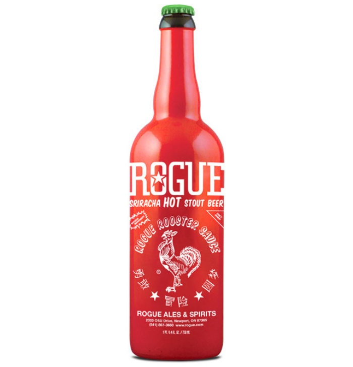 Sriracha Hot Sauce Flavored Beer