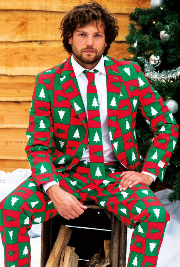 Ugly Christmas Sweater Suits2