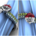For The Die Hard Fans: A Pokemon Engagement Ring