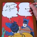 Let Hilarity Ensue: Batman Slap Meme Dry Erase Board