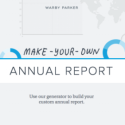 Life In Review: Warby Parker's 'Make-Your-Own Annual Report'