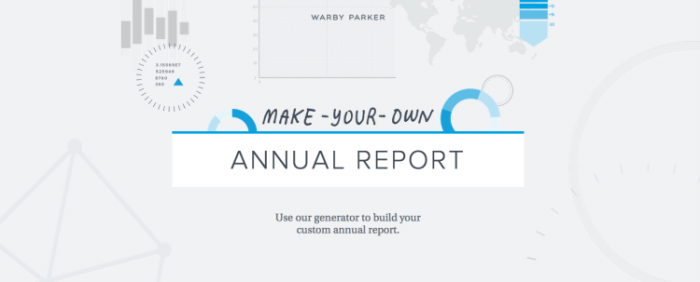 Make-Your-Own Annual Report