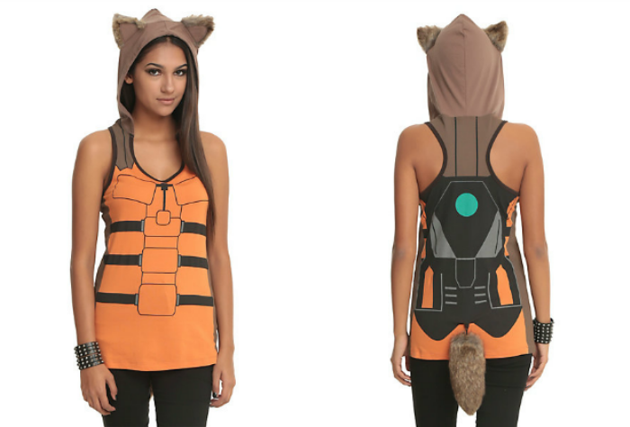 Rocket Raccoon tank top