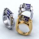 Marrying A Dr. Who Fan?  Propose With This Ring!