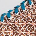 High-top Sneakers With Poop Emoji Pattern