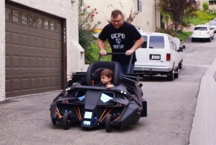 Batmobile baby stroller1