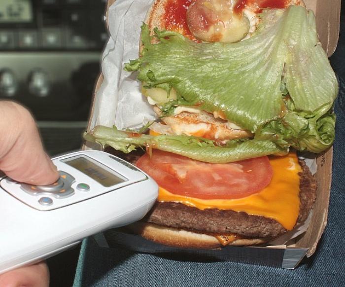 Food Spit Scanner Device