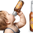 Get'Em Hooked Early: Beer Bottle-Shaped Baby Bottle