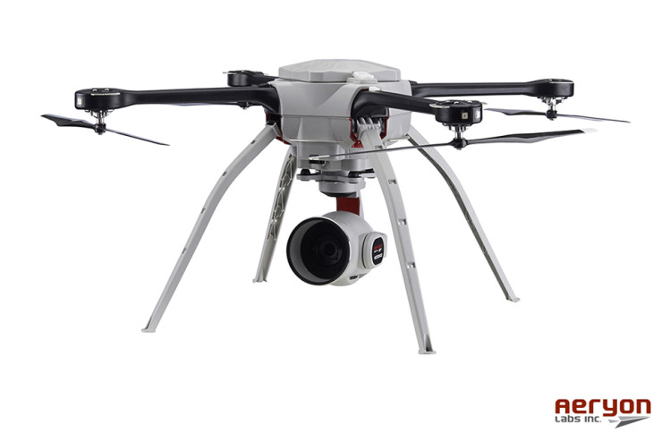 Aeryon HDZoom30 Camera Can Be Mounted On A Drone, Spots Faces From ...