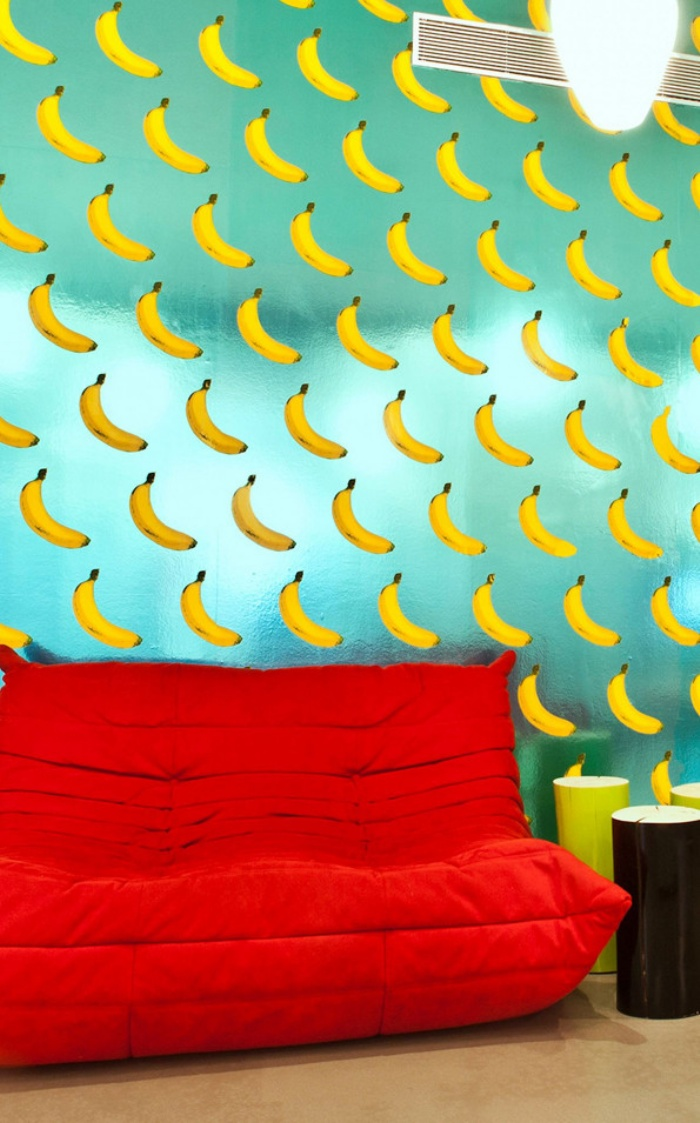Banana Scratch And Sniff Wallpaper