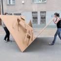 Instant Seating? Pop-Up Cardboard Furniture
