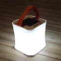 LuminAID Solar LED Lantern Folds Flat, Lasts All Day