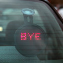 Drivemotion LED Car Sign Helps You Communicate With Other Motorists