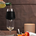 Ice Cap Chills And Aerates Your Wine In Seconds