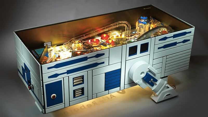 Can The Force Help You Afford This 10 000 R2 D2 Pinball