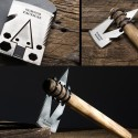 Tactical Credit Card AX Fits An Axe In Your Wallet