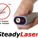 SteadyLaser: A Laser Pointer That Doesn't Shake, Even When You Do