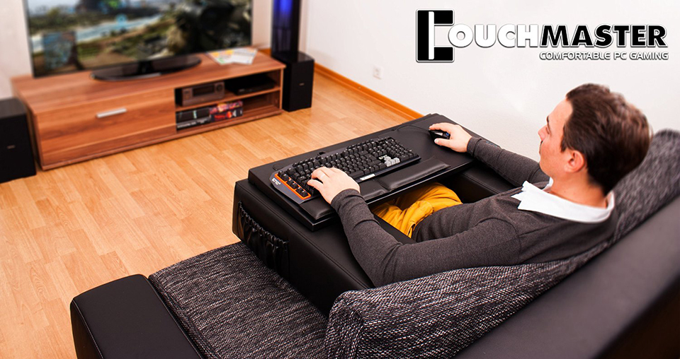 Couchmaster Lets You Game All Day Stay On Your Sofa