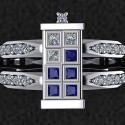 I Do: Doctor Who TARDIS Engagement Ring