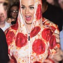 Wear What You Eat: Pepperoni Pizza Onesie