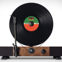 Floating Record Spins Your Vinyls Vertically
