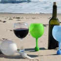 Cup Of Wine On The Beach?  Unthinkable Until You Get 'The Beach Glass'