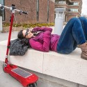 Scoot to Your Favorite Tunes With the Daak Photon Solar Boombox Scooter