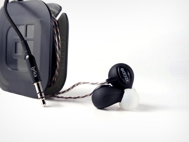 Earjax 'Lyrics' Noise-Isolating Headphones