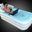 Would You Ever Use A Portable, Inflatable Bathtub?