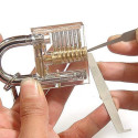 Transparent Practice Padlock For Budding Locksmiths