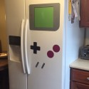 Magnets Turn Your Fridge Into Giant GameBoy
