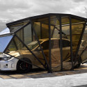 The Gazebox Is A Gazebo and Garage In One
