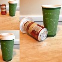 Stealth Beer Koozie Makes It Look Like You're Drinking Coffee