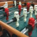 3D Printed Stormtrooper Foosball Heads