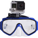 Underwater Mask With Integrated GoPro Mount