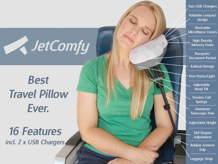 Jetcomfy Might Be The Best Travel Pillow Ever