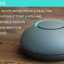 Snooz Generates White Noise So You Can Sleep Better