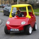 A Road Legal Little Tikes Cosy Coupe For Not-so-Little Kids