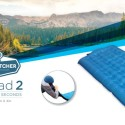 Windcatcher Airpad 2 Air Mattress Amplifies Your Breath, Inflates In Seconds