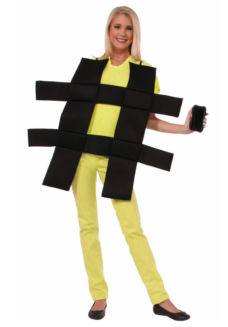 hash-tag-costume