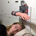 This Alarm Clock Slaps You Awake