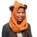 This Hooded Scarf Makes You Look Like An Ewok