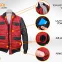 So Now You Can Buy A Self-Drying Jacket, You Know, Like On BTTF…