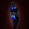 Technomancer 2.0 Digital Wizard Hoodie Lets You Cast Spells