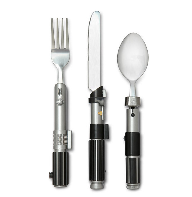lightsaber-flatware